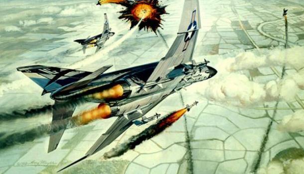 Фальшивый «ас» США: история американского летчика, в одиночку «сбившего» сразу три МиГа