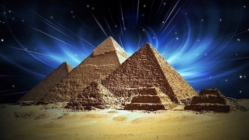 Откуда в Египте пирамиды?