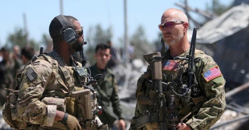 США нанесли удар по Сирии несуществующим оружием