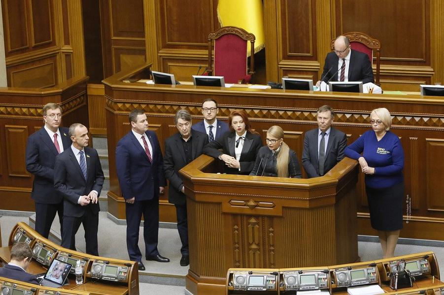 Тимошенко не сдается: вам импичмент,  господин Порошенко