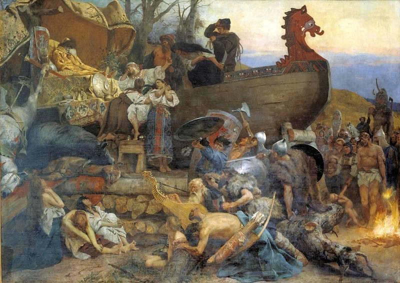 «Он умер с мечом в руке». Погребальные обряды викингов (часть 2)