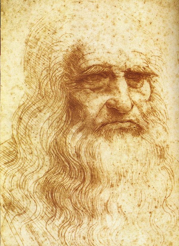 картинки леонардо да винчи портрет