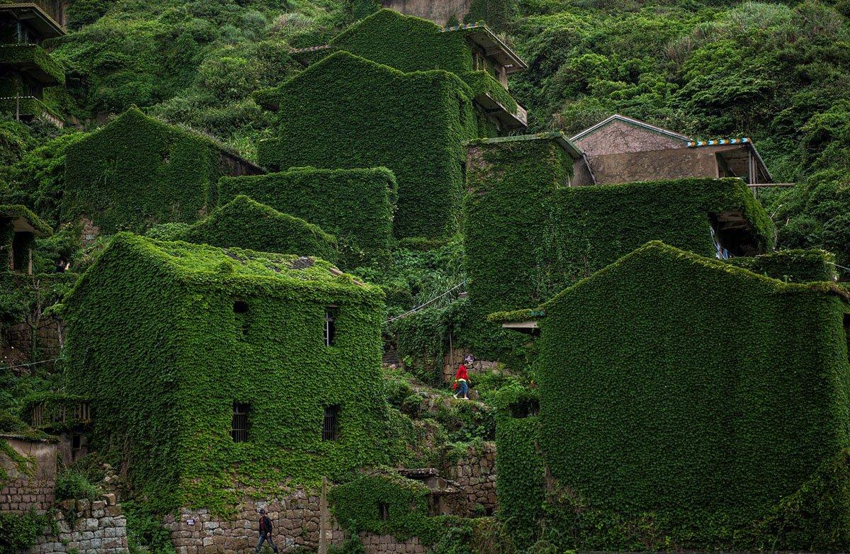 Остров-призрак Шэншань, Китай. Фотограф Johannes Eisele