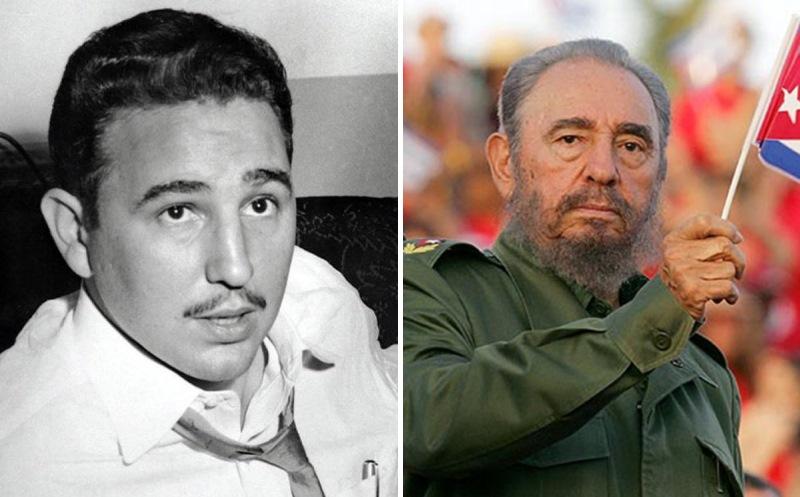 Фидель Кастро. Политики в молодости: вот как они выглядели (фото)