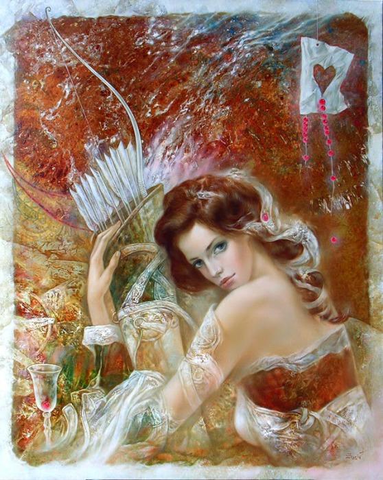 Красочные работы литовского художника Станислава Сугинтаса (Stanislav Sugintas).