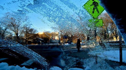 Если в машине замерзают стекла