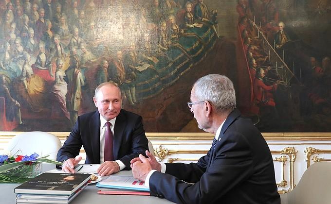 Переговоры с Президентом Австрии Александром Ван дер Белленом