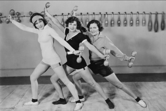 Фитнес был популярен в СССР / Фото: telemetr.me