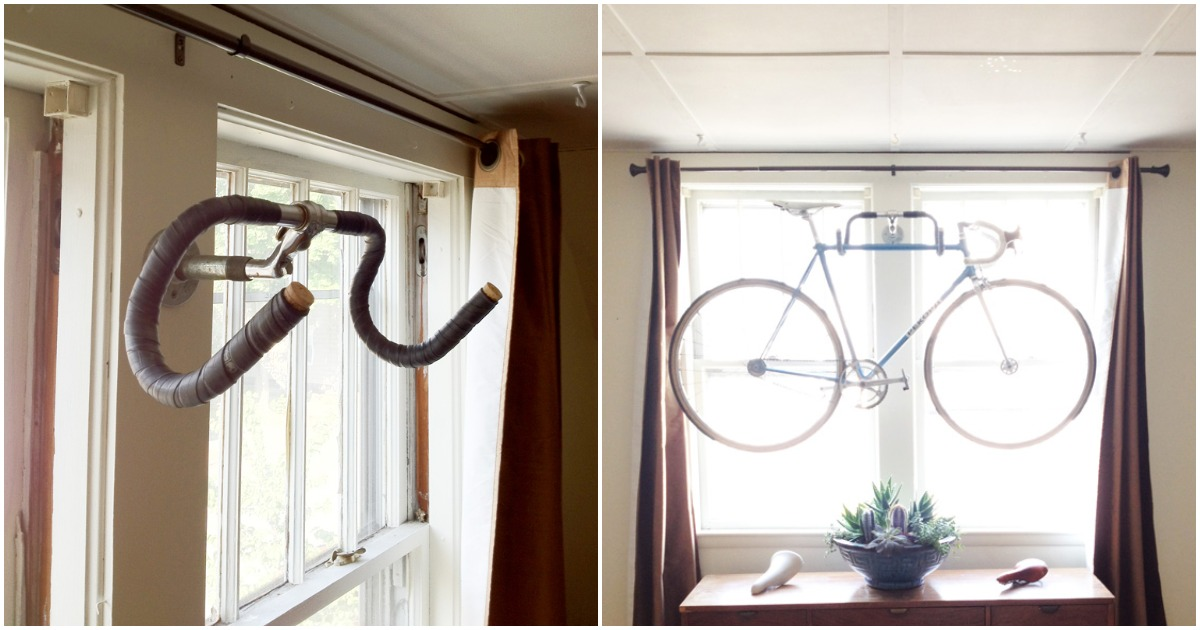 Велосипед на хранении: отличная идея для ограниченного пространства