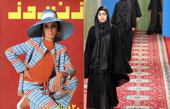 От коротких юбок до чадры — как менялся модный образ иранских женщин