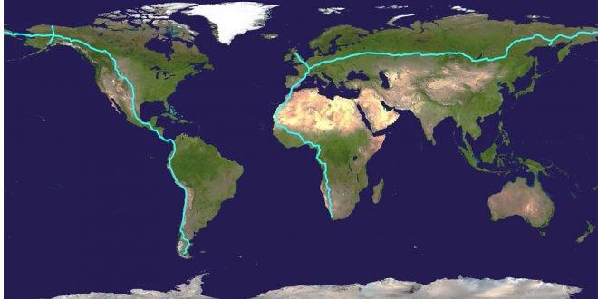 Как построить дорогу вокруг планеты