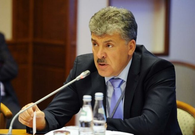 «Отнять у нищих россиян последние копейки» — Грудинин рассказал о намерениях Российских властей