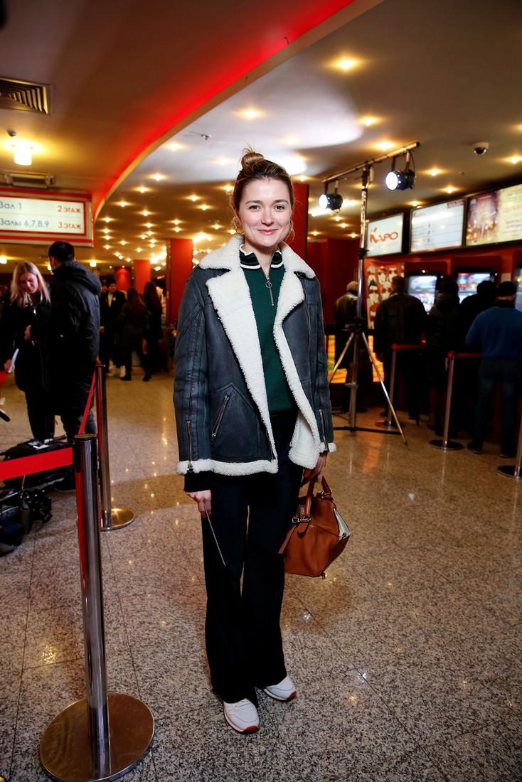 Актриса пришла на премьеру