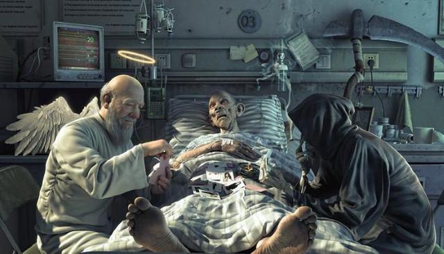 Загробный мир. При клинической смерти люди переживают странный опыт