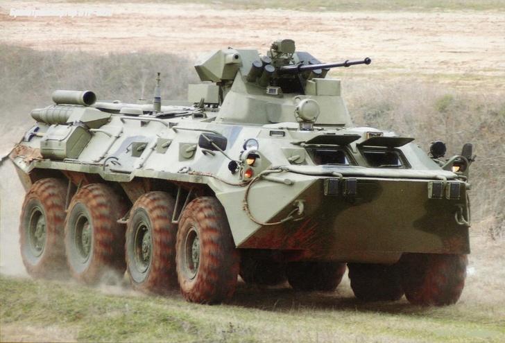 В рамках Гособоронзаказа в войска поступило 60 БТР 82А