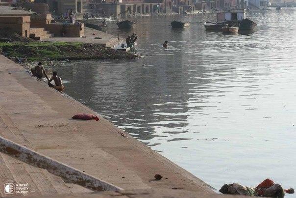 Ужасы священной реки Ганг.