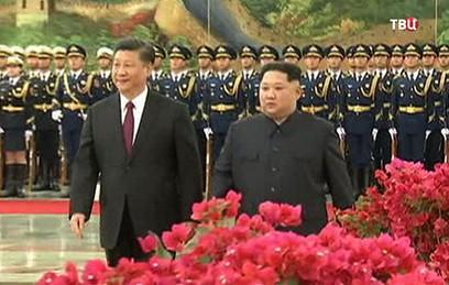 Дипломатическая сенсация: Ким Чен Ын в Китае встретился с Си Цзиньпином
