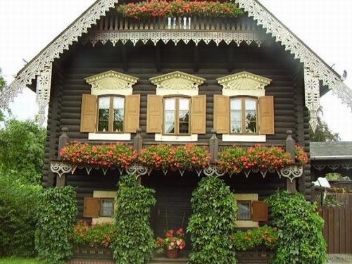 Деревянные дома германия фото