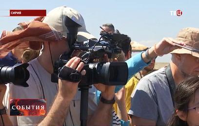 Иностранные журналисты продолжают работать в Сирии