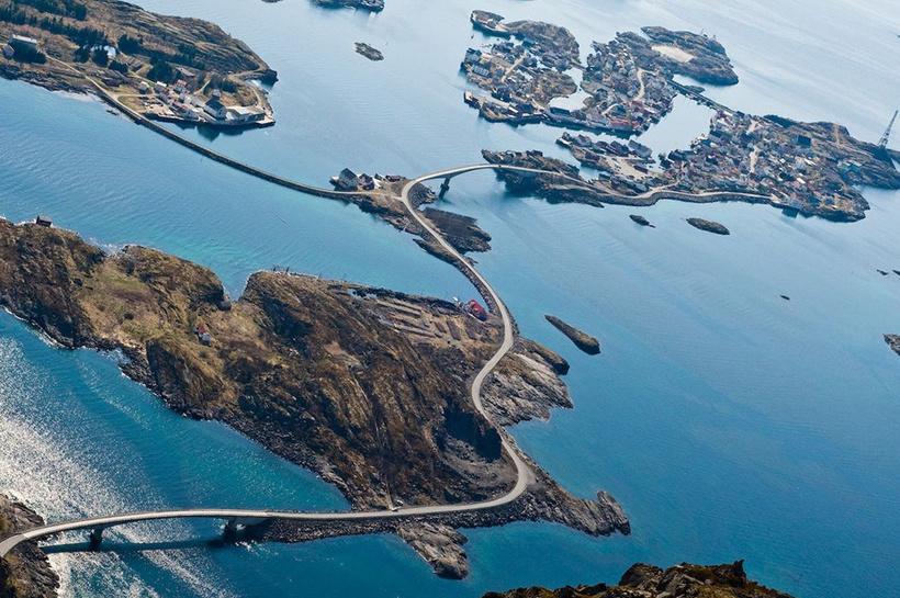 Атлантическая дорога в Норвегии — лучшая туристическая дорога в стране