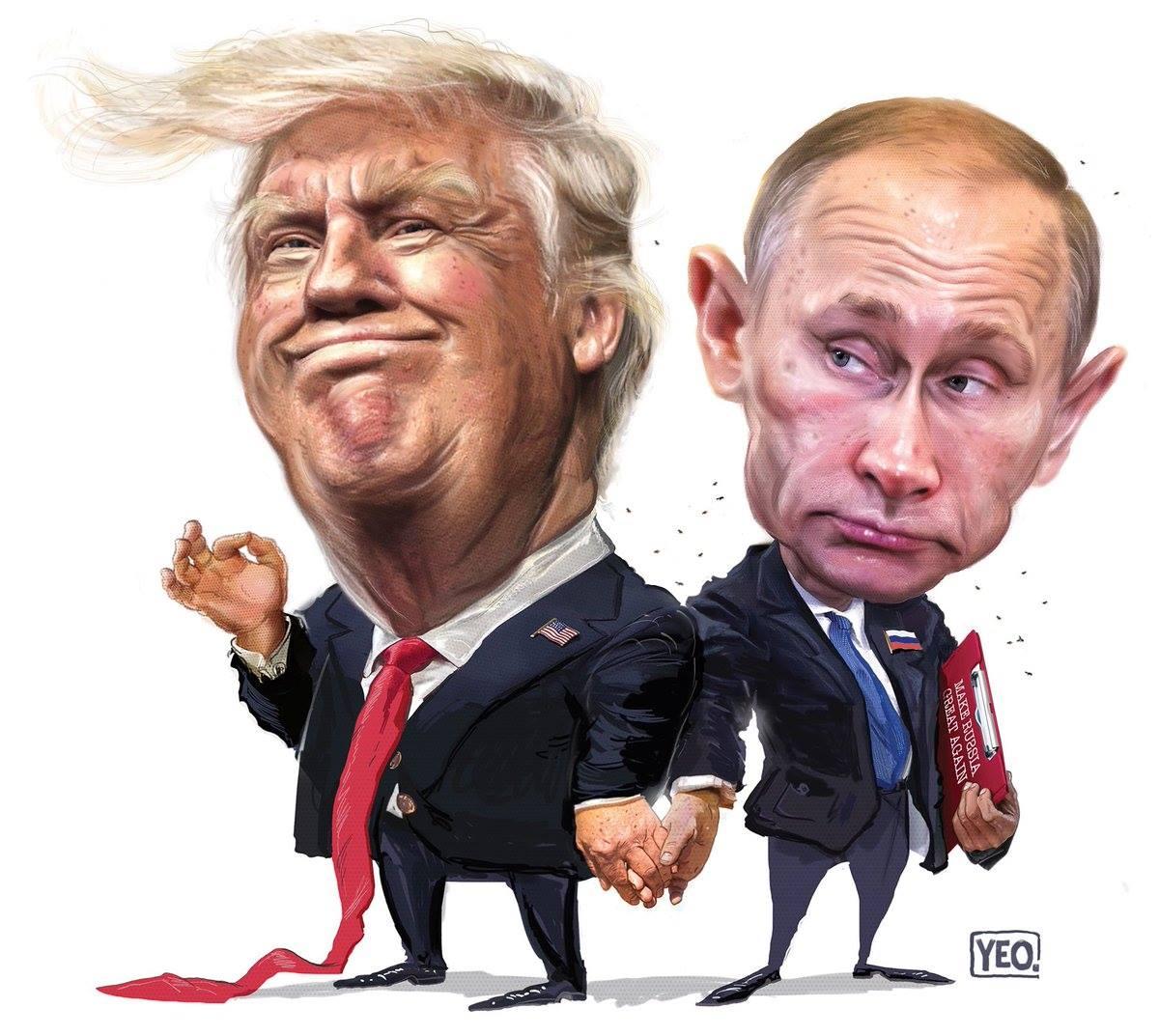Не из любви к Путину: Но он смог поставить в коленно - локтевую слишком многих очень больших и важных...