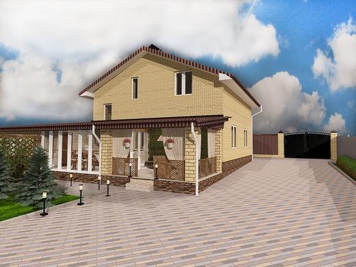 Веранда частного дома - Интерьеры квартир, домов - MyHome.ru