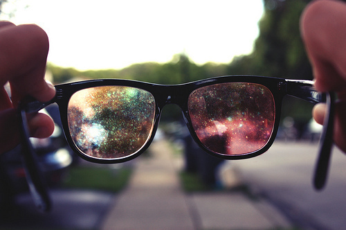 радуга сквозь очки