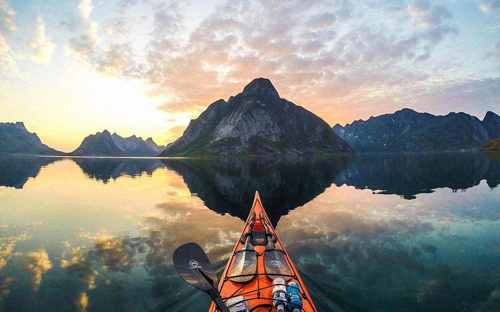 По Норвегии на байдарке