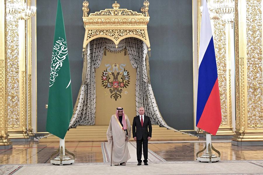Визит короля Саудовской Аравии в Москву – это успех Путина. Или у вас другое мнение?