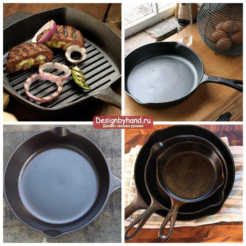 Ржавчина на чугунной сковороде: что делать? Не беда, пошаговые советы.