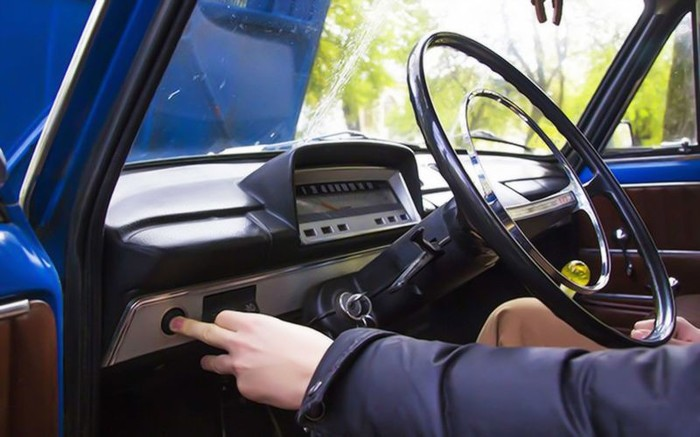 Секретная кнопка на первых Жигулях Авто, Автолюбители, Автомобилисты, Жигули, Вспомнить