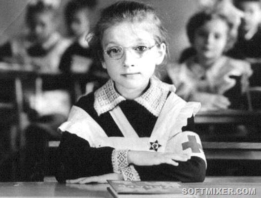 Анкеты советских школьниц