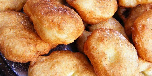 Рецепты пончиков: Банановые пончики