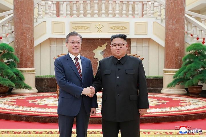 Южнокорейский президент передаст Трампу послание от Ким Чен Ына