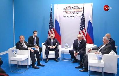 Переговоры Путина и Трампа продлились более двух часов