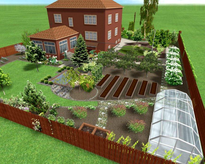 Примеры садового дизайна