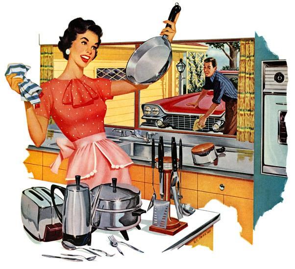 Сладкая жизнь домохозяйки!