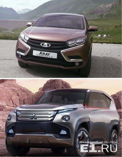 Дизайнер АвтоВАЗа обвинил Mitsubishi в плагиате