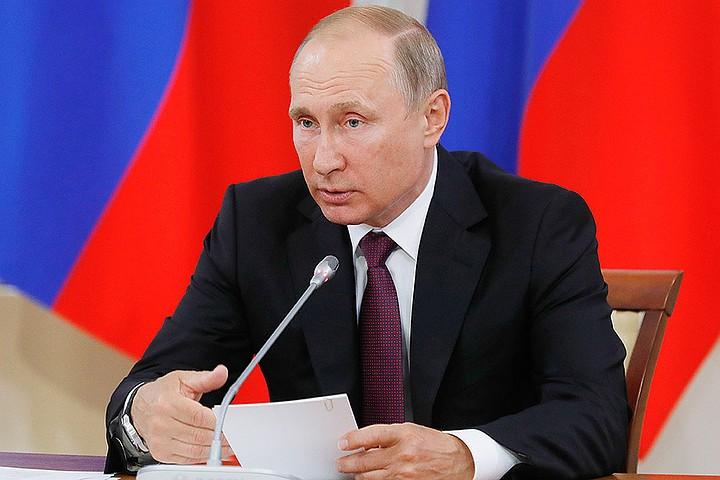 Путин надеется на полную загрузку металлургической промышленности РФ