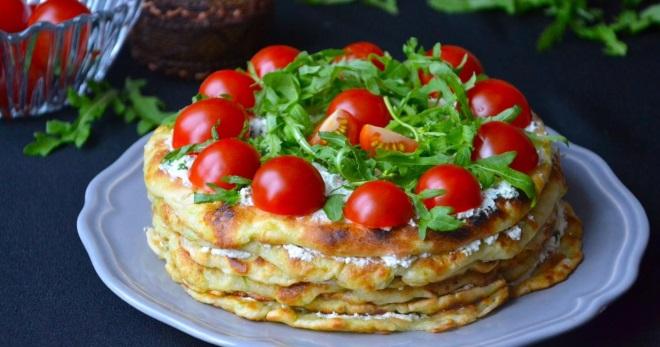 Кабачковый торт - бесподобная закуска по лучшим и простым рецептам