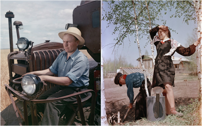 Фотографии из жизни людей в СССР, сделанные Семеном Фридляндом.