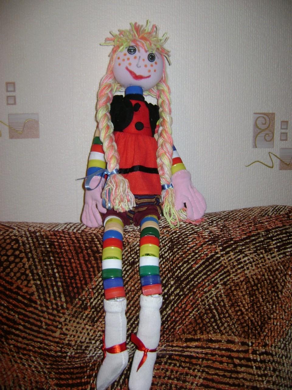 Куклы из старых колготок своими руками