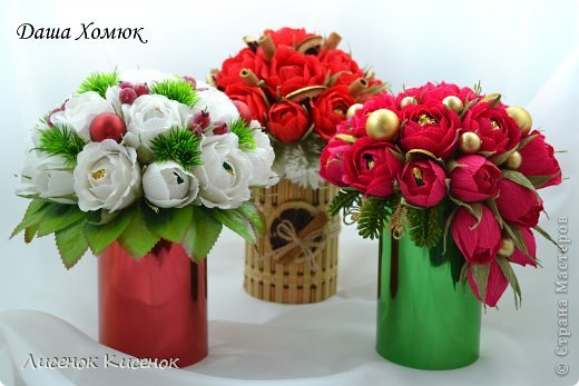 Свит-дизайн. Розы из гофрированной бумаги (19) (520x347, 164Kb)