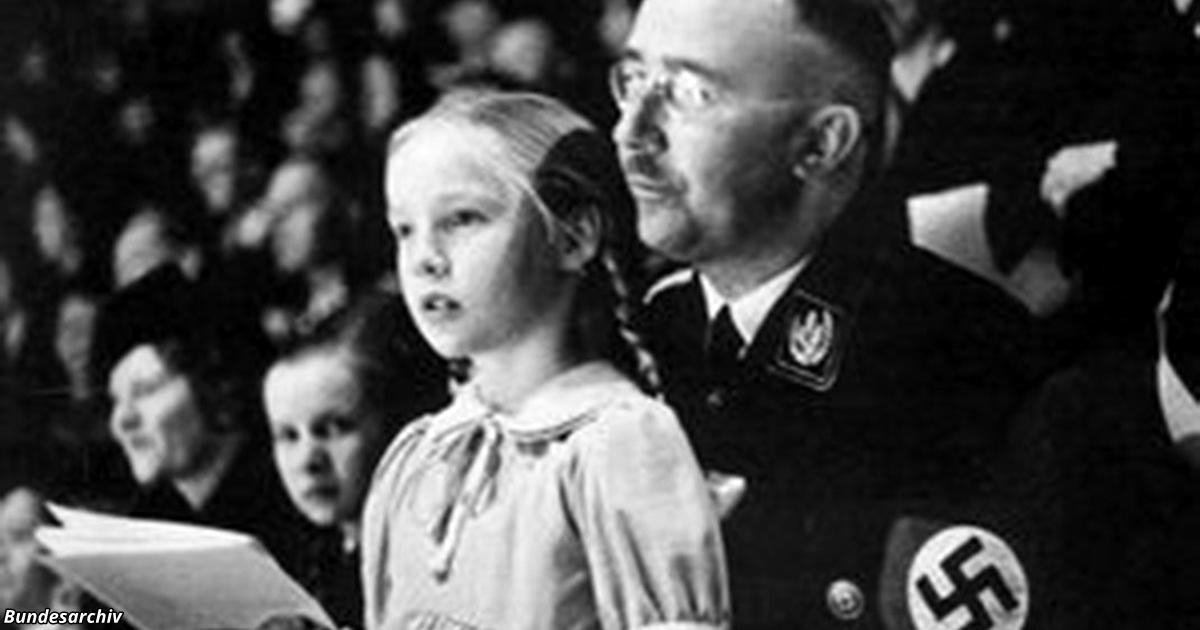 У нацистов была программа по выведению «арийских детей». Вот где все эти люди сегодня