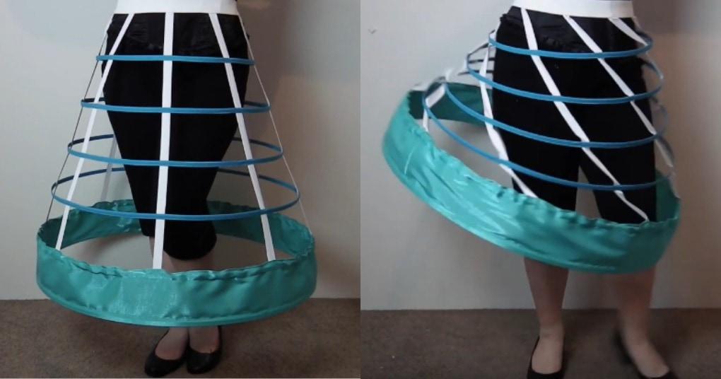 Пышный подъюбник преобразит вашу юбку и платье