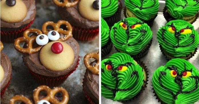 30+ самых креативных рождественских кексов
