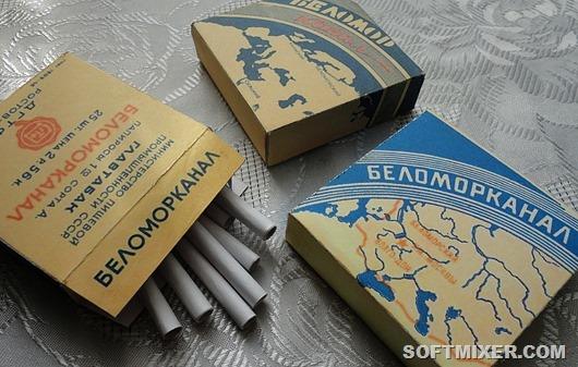 «Беломорканал» — папиросы родом из СССР