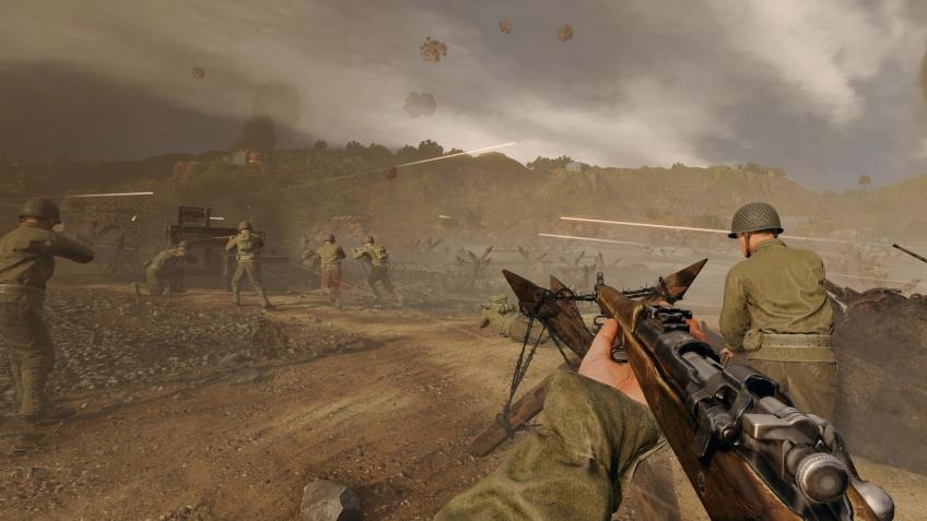 В Enlisted будет «королевская битва», где игроки делятся на две команды