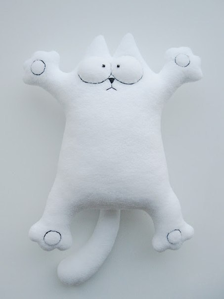 Мастер-класс по пошиву кота Саймона 2