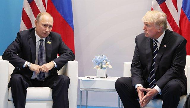 «Сообщим по мере готовности»: Песков о встрече Путина и Трампа